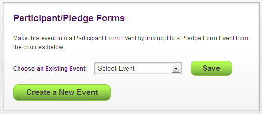 Participant/Pledge Forms